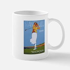 St. Andrews, Golf, Vintage Poster Mug