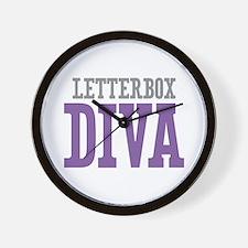 Letterbox DIVA Wall Clock