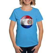 Paraguay Football Tee
