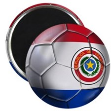 Paraguay Football Magnet