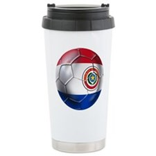 Paraguay Football Travel Mug