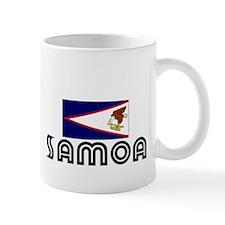 I HEART SAMOA FLAG Mug