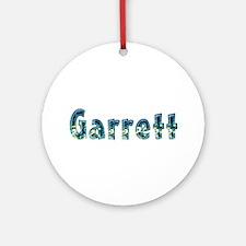 Garrett Under Sea Round Ornament