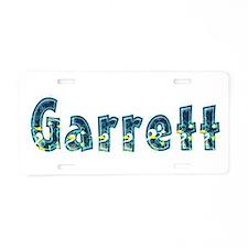 Garrett Under Sea Aluminum License Plate
