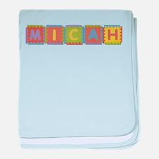 Micah Foam Squares baby blanket