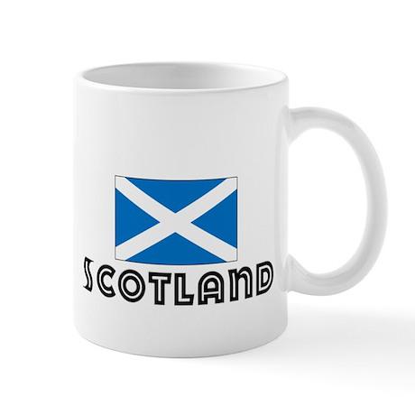 I HEART SCOTLAND FLAG Mug