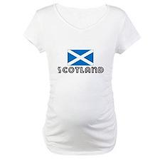 I HEART SCOTLAND FLAG Shirt