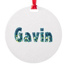 Gavin Under Sea Ornament
