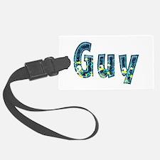 Guy Under Sea Luggage Tag