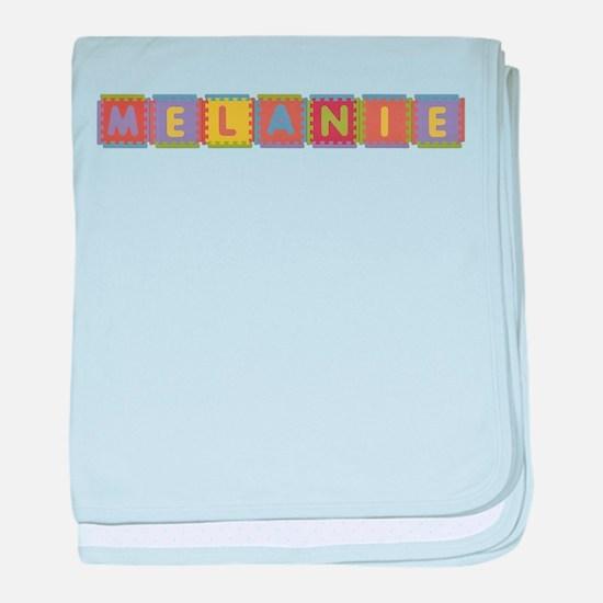 Melanie Foam Squares baby blanket