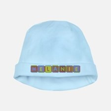 Melanie Foam Squares baby hat