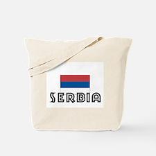 I HEART SERBIA FLAG Tote Bag