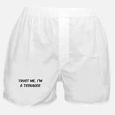 Trust Me: Teenager Boxer Shorts