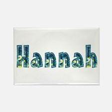 Hannah Under Sea Rectangle Magnet