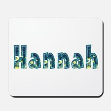 Hannah Under Sea Mousepad