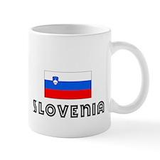 I HEART SLOVENIA FLAG Mug