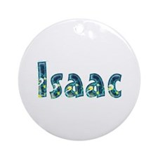 Isaac Under Sea Round Ornament