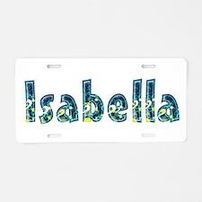 Isabella Under Sea Aluminum License Plate
