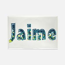 Jaime Under Sea Rectangle Magnet