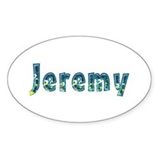Jeremy Under Sea Oval Decal