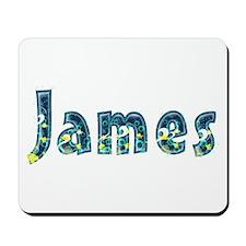 James Under Sea Mousepad