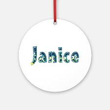 Janice Under Sea Round Ornament