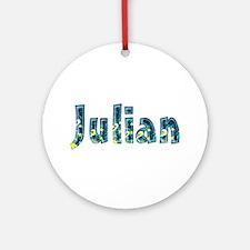 Julian Under Sea Round Ornament