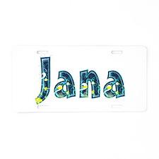 Jana Under Sea Aluminum License Plate