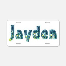 Jayden Under Sea Aluminum License Plate