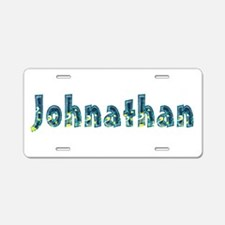 Johnathan Under Sea Aluminum License Plate