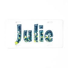 Julie Under Sea Aluminum License Plate