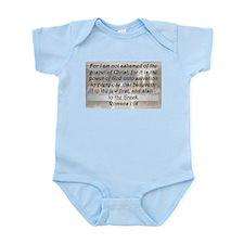 Romans 1:16 Body Suit