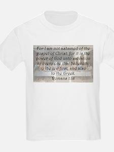 Romans 1:16 T-Shirt