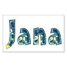 Jana Under Sea Rectangle Decal