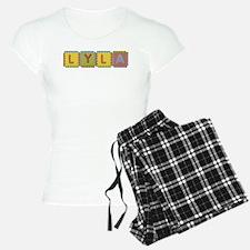 Lyla Foam Squares Pajamas