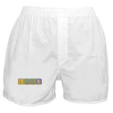 Luke Foam Squares Boxer Shorts