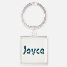 Joyce Under Sea Square Keychain
