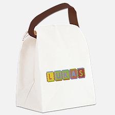 Lukas Foam Squares Canvas Lunch Bag