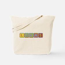 Lukas Foam Squares Tote Bag