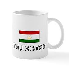 I HEART TAJIKISTAN FLAG Mug