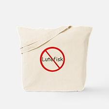 No Lutefisk Tote Bag