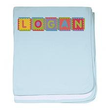 Logan Foam Squares baby blanket