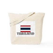 I HEART THAILAND FLAG Tote Bag