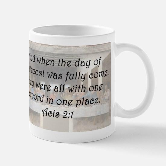 Acts 2:1 Mug