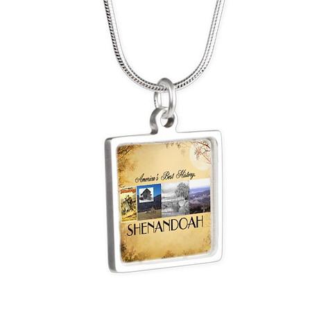 ABH Shenadoah Silver Square Necklace