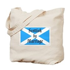 Scottish by Marriage Tote Bag