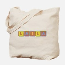 Laila Foam Squares Tote Bag