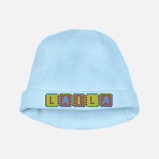 Laila Foam Squares baby hat