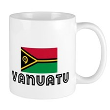 I HEART VANUATU FLAG Mug