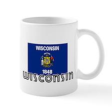 I HEART WISCONSIN FLAG Mug